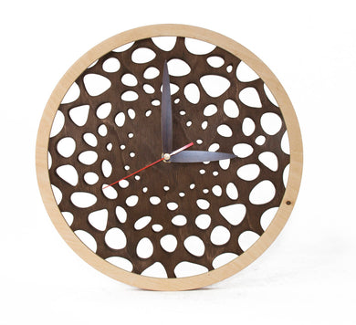 Wooden Wall Clock, Wooden Clocks, Rustic Clock, Unique Wall Clock, Wedding Gift