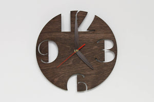 Rustic wall clock, Wall clock,  Wall clock wood,Wall clock house, Rustic gift home