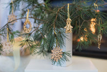Load image into Gallery viewer, Wooden Christmas Ornaments, Wooden Christmas Decorations, Christmas Tree Ornaments