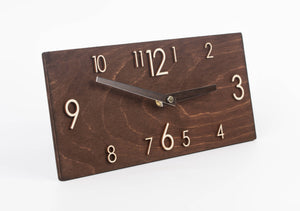 Wall Clock - Wood Clock - Wooden Clock - Wall Clock Wood - Farmhouse Clock - Wooden Wall Clock - Modern Wall Clock - Rustic Wall Clock