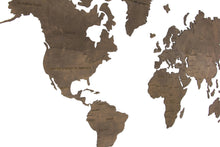 Load image into Gallery viewer, World Map Wall Art, Wooden World Map, World Map Poster, World Map Wall Decal, World Map Decal, Wood World Map, World Map, Map Decal