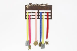 Basketball, Medal Hanger, Medal Display, Medal Holder, Kids Wall Art, Basketball Coach Gift