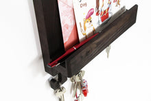 Load image into Gallery viewer, Mail And Key Holder, Key Rack, Key Holder For Wall, Wall Key Holder, Key Hook
