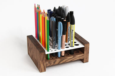 Pen Organizer, Perfect gift for kids and art students, Pencil Holder, Desk Accessories, Brush Holder, Pencil Cup, Pen Stand
