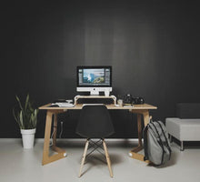 Load image into Gallery viewer, karya wood desk plywood table