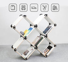Load image into Gallery viewer, playwood connector wooden connectors promidesign design connect create shelves furniture living room garden children plastic brackets panels modular kit