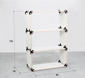 create shelves modular furniture durable shelving shoe rack comfortable garden bench different compositions organize space Playwood PromiDesign bedroom living room garden kids room