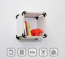 Load image into Gallery viewer, fixed to the wall PromiDesign Playwood connectors plastic top quality wood bedside table bedroom living room different compositions organize spaces entrance  dining area wood wooden wall create