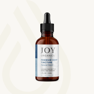 "Joy Organics Premium CBD Oil ""Natural"""