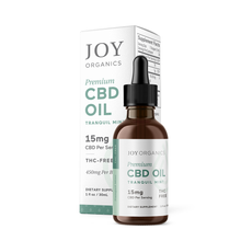"Load image into Gallery viewer, Joy Organics Premium CBD Oil ""Tranquil Mint"""
