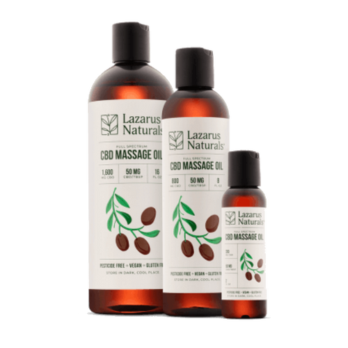Lazarus Full Spectrum CBD Massage Oil
