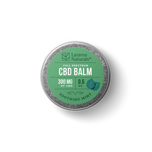 "Load image into Gallery viewer, Lazarus Full Spectrum CBD Balm ""Soothing Mint"""