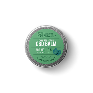 "Lazarus Full Spectrum CBD Balm ""Soothing Mint"""