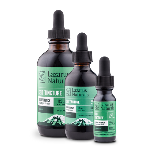 Lazarus Full Spectrum CBD Oil