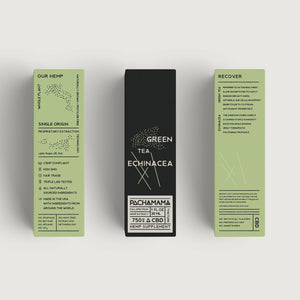 "Pachamama Full Spectrum CBD Oil ""Green Tea Echinacea"""