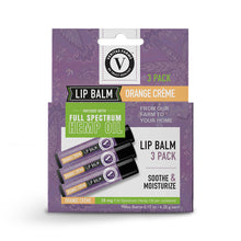 Load image into Gallery viewer, Lip Balm with Full Spectrum CBD | 3-Pack