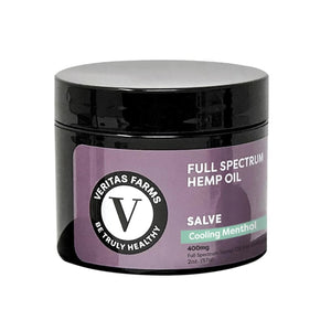 "Full Spectrum CBD Salve ""Cooling Menthol"""