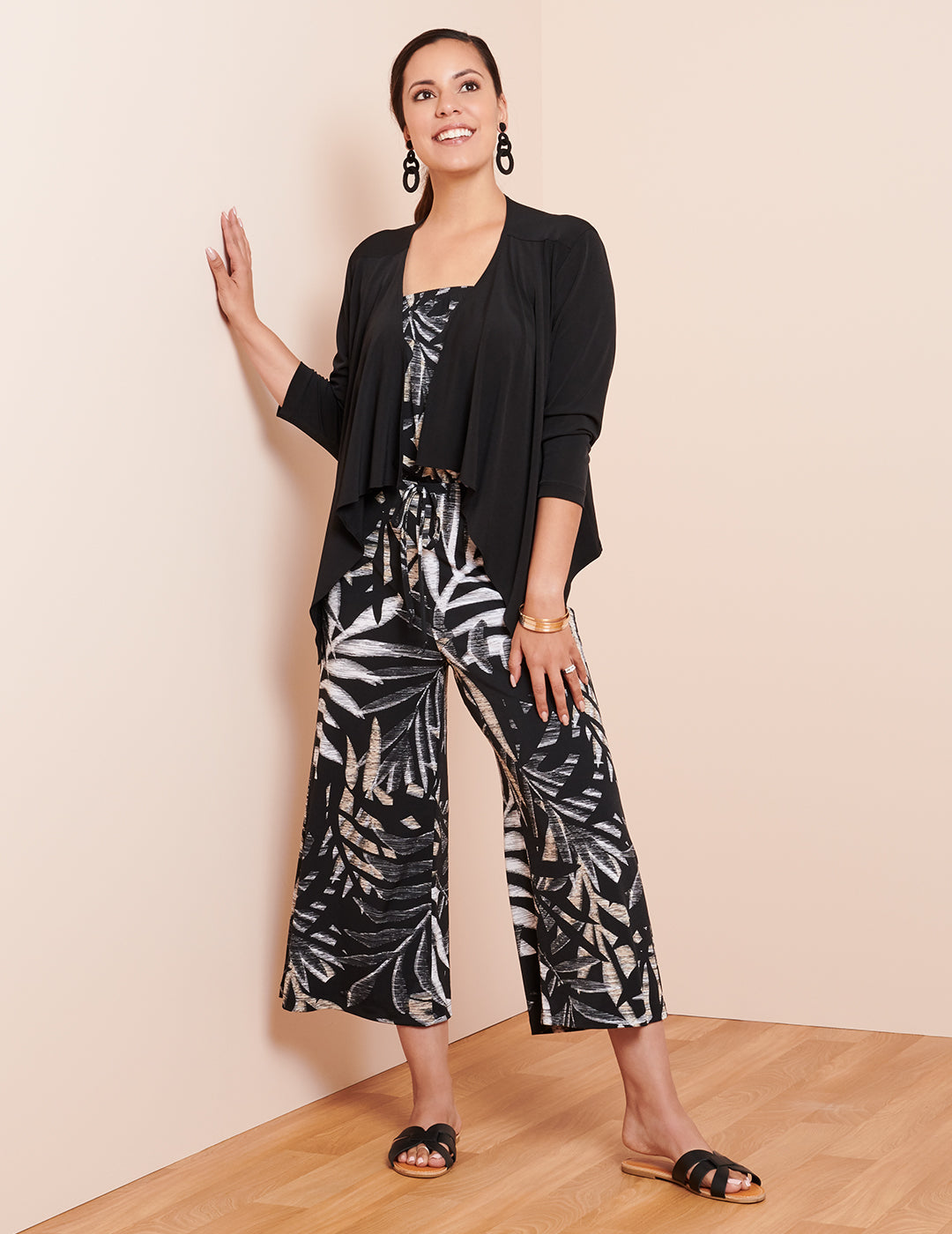 The Melissa Jumpsuit with Ruth Jacket | Connected Apparel