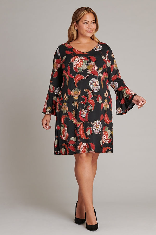 The Maddie Paisely Print Dress | Connected Apparel