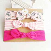 Load image into Gallery viewer, 3Pc/Set Baby Headband For Girls