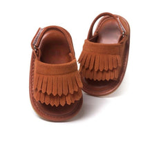 Load image into Gallery viewer, Fashionable Leather Tassel Anti-slip Summer Shoes