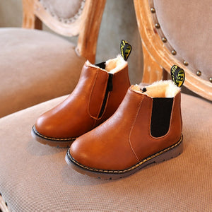 Classic Design Ankle Boots for Kids