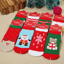 Load image into Gallery viewer, 1 Pair Christmas Cutie Socks