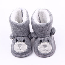 Load image into Gallery viewer, Teddy Bear Winter Boots