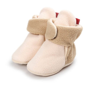 Faux Fleece Bootie for Winter