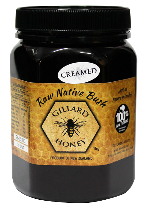 1KG Raw Bush Creamed Honey