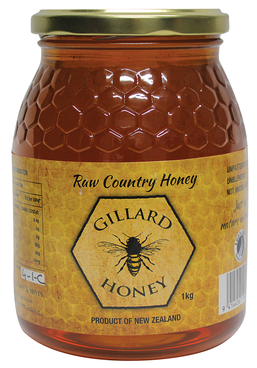 1KG Raw Country Honey