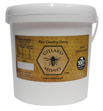 2.5KG Raw Country Honey