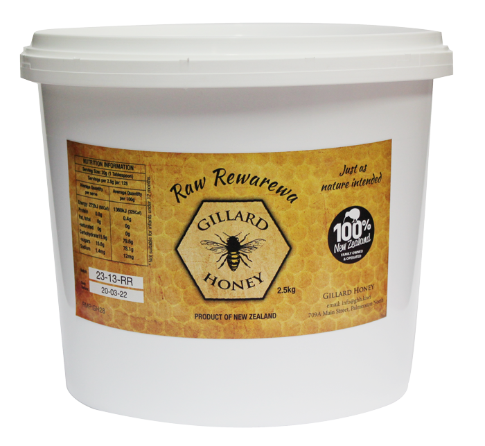 2.5 KG Raw Rewarewa Honey