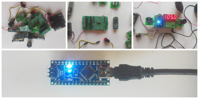 Super-fast start with Arduino: you take and do