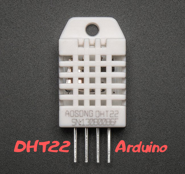 ☁️ DHT22 and Arduino – connection circuit