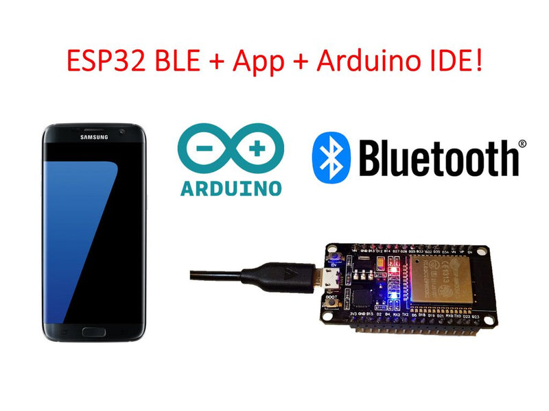 📡 ESP32 Bluetooth connection in Arduino IDE