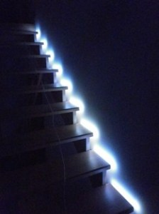 💡 Automatic staircase lighting with Arduino