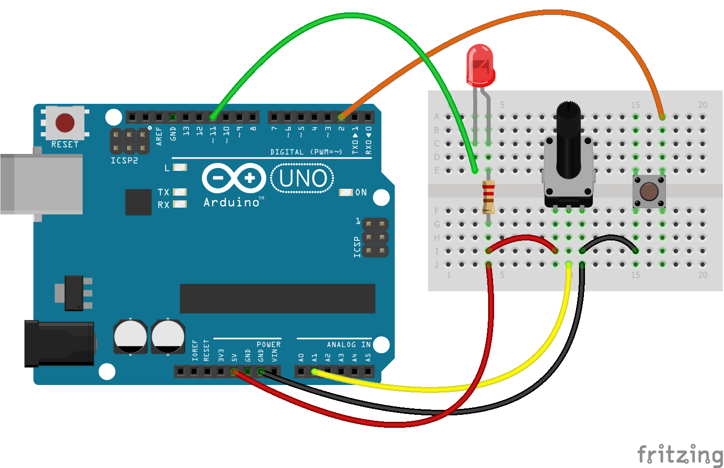 💻 Arduino and Processing. How to control the microcontroller on the COM port. Bilateral communication