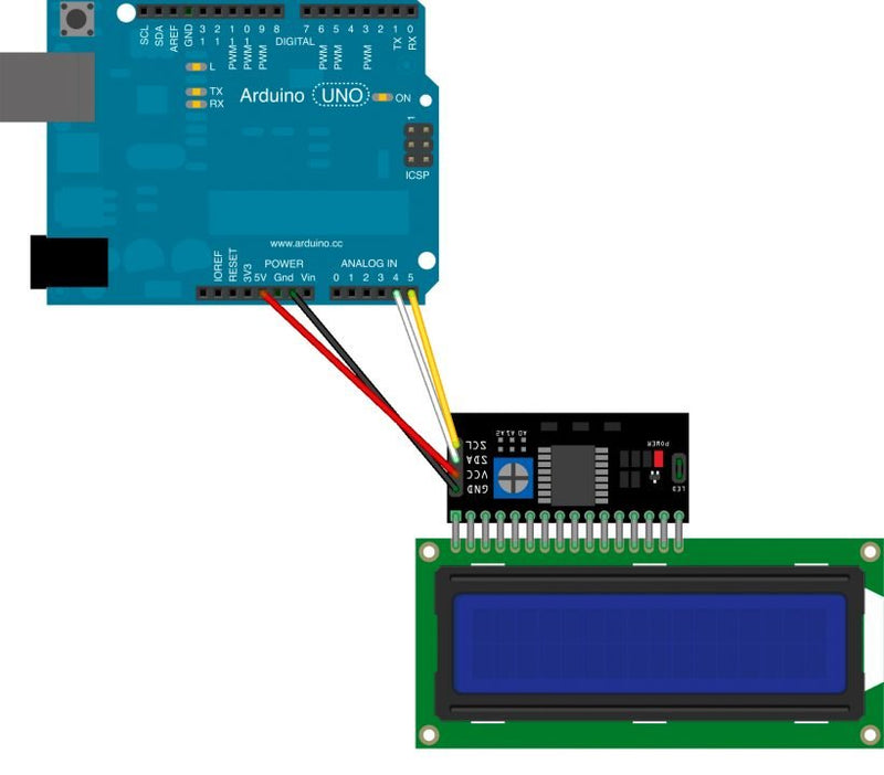 I2C address of the device and how to find it