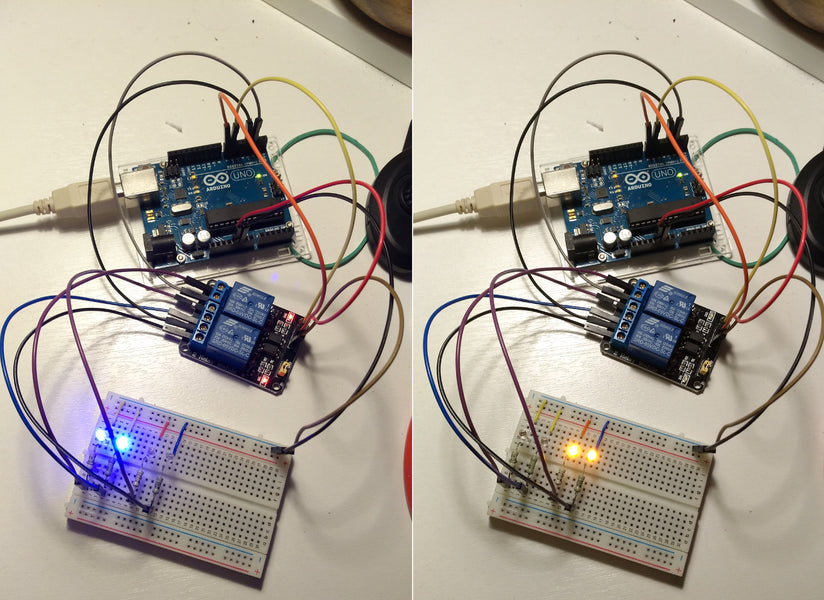 ⚡️ How to connect the relay to Arduino