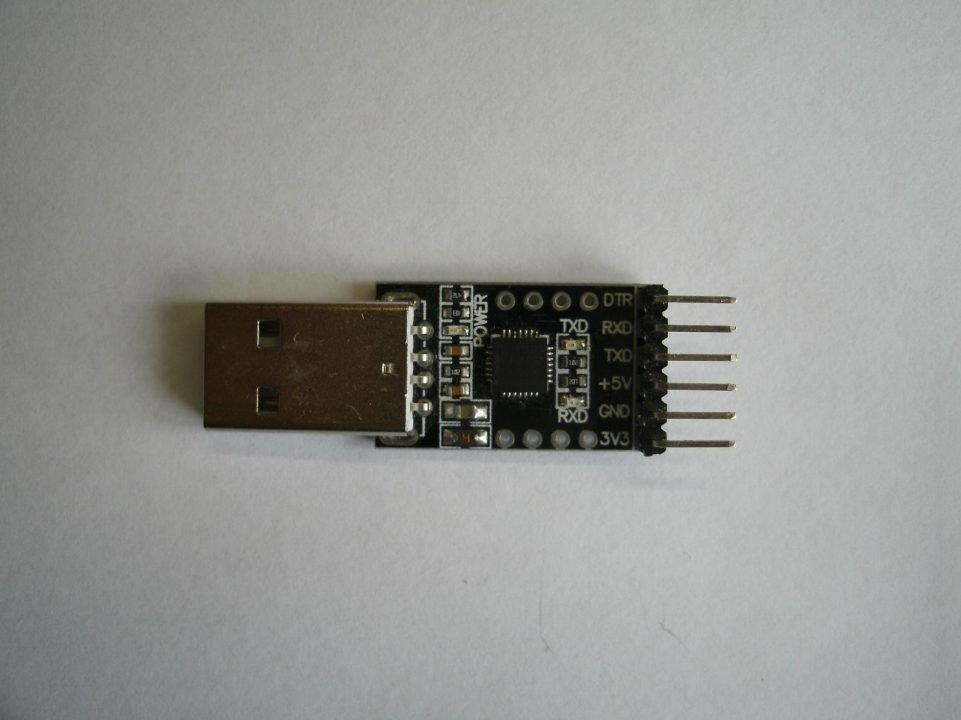 Connection to PADI via UART interface