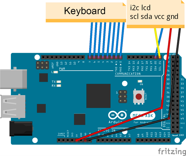 Arduino Lcd I2c Connection