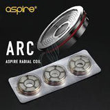 royalvapekitsilano - Aspire Revvo Replacement Radial Coil - Pack of 3 - Aspire - accessories