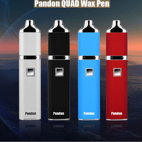 royalvapekitsilano - YoCan Pandon Quad Wax Pen Kit BLACK - YOCAN - DRY HERB / OIL & WAX