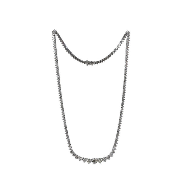 Maria Jose Jewelry 12kt Diamond Riviera Necklace