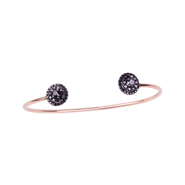 Maria Jose Jewelry Black Diamond Bracelet