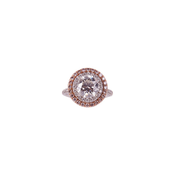 Maria Jose Jewelry Diamond Double Halo Ring