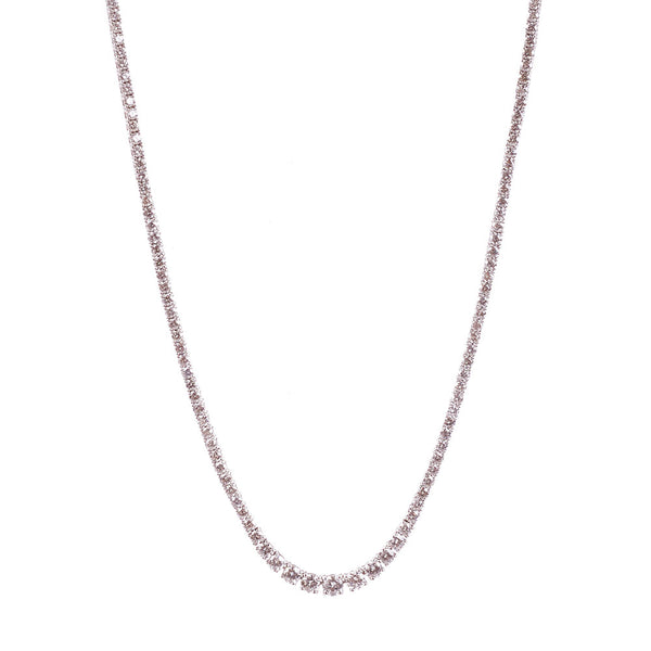Maria Jose Jewelry Diamond Riviére Necklace