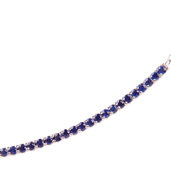 Maria Jose Jewelry Sapphire Diamond String Necklace