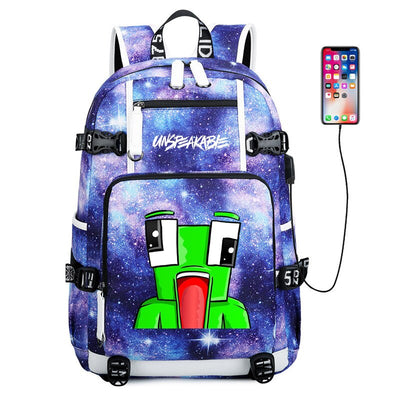 UNSPEAKABLE usb charging canvas Laptop Backpack